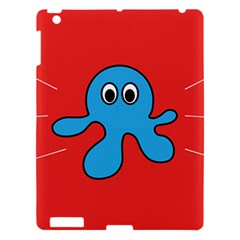 Creature Forms Funny Monster Comic Apple Ipad 3/4 Hardshell Case by Nexatart