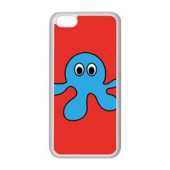 Creature Forms Funny Monster Comic Apple Iphone 5c Seamless Case (white) by Nexatart