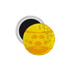 Texture Yellow Abstract Background 1 75  Magnets by Nexatart