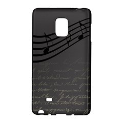 Music Clef Background Texture Galaxy Note Edge by Nexatart