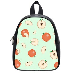 Apple Fruit Background Food School Bags (small)  by Nexatart