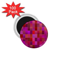 Shapes Abstract Pink 1 75  Magnets (100 Pack)  by Nexatart