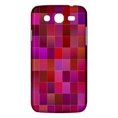 Shapes Abstract Pink Samsung Galaxy Mega 5.8 I9152 Hardshell Case