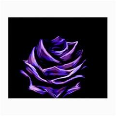 Rose Flower Design Nature Blossom Small Glasses Cloth by Nexatart