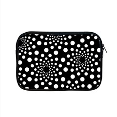 Dot Dots Round Black And White Apple Macbook Pro 15  Zipper Case by Nexatart