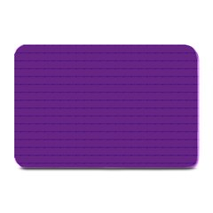 Pattern Violet Purple Background Plate Mats by Nexatart