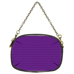 Pattern Violet Purple Background Chain Purses (two Sides)  by Nexatart