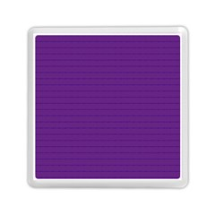 Pattern Violet Purple Background Memory Card Reader (square)  by Nexatart