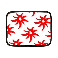 Star Figure Form Pattern Structure Netbook Case (small)  by Nexatart