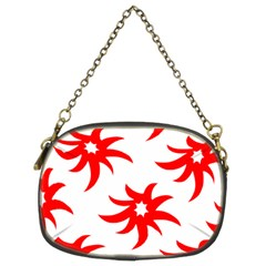Star Figure Form Pattern Structure Chain Purses (two Sides)  by Nexatart