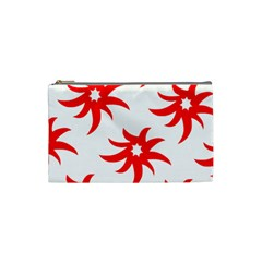 Star Figure Form Pattern Structure Cosmetic Bag (small)  by Nexatart