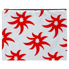 Star Figure Form Pattern Structure Cosmetic Bag (xxxl)  by Nexatart