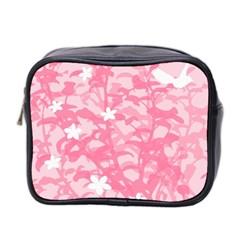 Plant Flowers Bird Spring Mini Toiletries Bag 2 Side