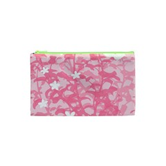 Plant Flowers Bird Spring Cosmetic Bag (xs) by Nexatart
