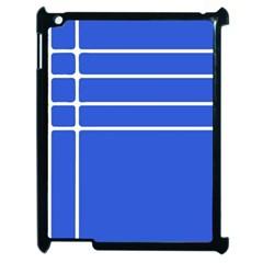 Stripes Pattern Template Texture Apple Ipad 2 Case (black) by Nexatart
