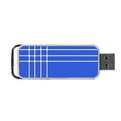 Stripes Pattern Template Texture Portable Usb Flash (two Sides) by Nexatart