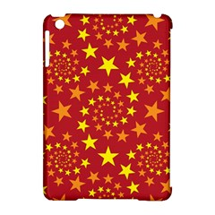 Star Stars Pattern Design Apple Ipad Mini Hardshell Case (compatible With Smart Cover) by Nexatart