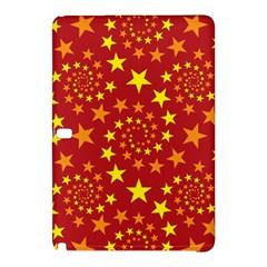 Star Stars Pattern Design Samsung Galaxy Tab Pro 10.1 Hardshell Case by Nexatart