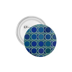 Circles Abstract Blue Pattern 1 75  Buttons by Nexatart