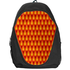 Simple Minimal Flame Background Backpack Bag by Nexatart