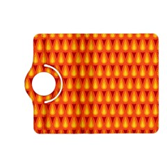 Simple Minimal Flame Background Kindle Fire Hd (2013) Flip 360 Case by Nexatart