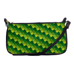 Dragon Scale Scales Pattern Shoulder Clutch Bags by Nexatart