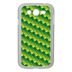 Dragon Scale Scales Pattern Samsung Galaxy Grand Duos I9082 Case (white) by Nexatart