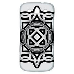Celtic Draw Drawing Hand Draw Samsung Galaxy S3 S Iii Classic Hardshell Back Case by Nexatart