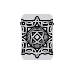 Celtic Draw Drawing Hand Draw Apple Ipad Mini Protective Soft Cases by Nexatart