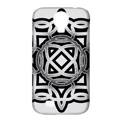 Celtic Draw Drawing Hand Draw Samsung Galaxy S4 Classic Hardshell Case (pc+silicone) by Nexatart