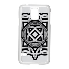 Celtic Draw Drawing Hand Draw Samsung Galaxy S5 Case (white) by Nexatart