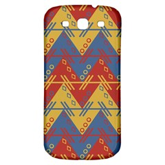Aztec Traditional Ethnic Pattern Samsung Galaxy S3 S Iii Classic Hardshell Back Case by Nexatart