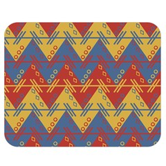 Aztec Traditional Ethnic Pattern Double Sided Flano Blanket (medium)  by Nexatart