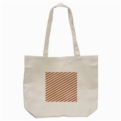 Stripes Striped Design Pattern Tote Bag (cream) by Nexatart