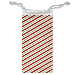 Stripes Striped Design Pattern Jewelry Bag by Nexatart