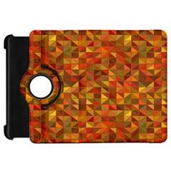 Gold Mosaic Background Pattern Kindle Fire Hd 7  by Nexatart
