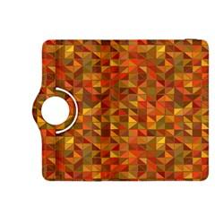 Gold Mosaic Background Pattern Kindle Fire Hdx 8 9  Flip 360 Case by Nexatart