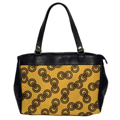 Abstract Shapes Links Design Office Handbags by Nexatart