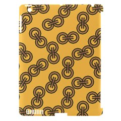 Abstract Shapes Links Design Apple Ipad 3/4 Hardshell Case (compatible With Smart Cover) by Nexatart
