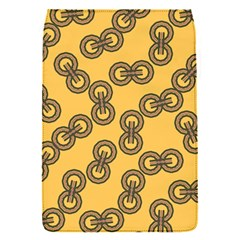 Abstract Shapes Links Design Flap Covers (s)  by Nexatart