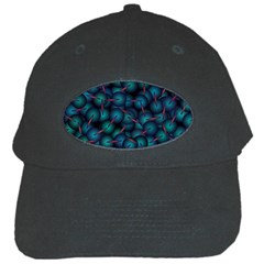 Background Abstract Textile Design Black Cap by Nexatart