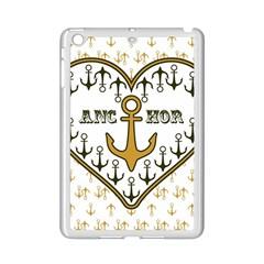 Anchor Heart Ipad Mini 2 Enamel Coated Cases by Nexatart
