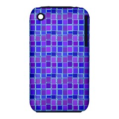 Background Mosaic Purple Blue Iphone 3s/3gs by Nexatart