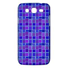 Background Mosaic Purple Blue Samsung Galaxy Mega 5 8 I9152 Hardshell Case  by Nexatart