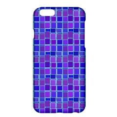 Background Mosaic Purple Blue Apple Iphone 6 Plus/6s Plus Hardshell Case by Nexatart