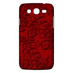 Christmas Background Red Star Samsung Galaxy Mega 5 8 I9152 Hardshell Case  by Nexatart