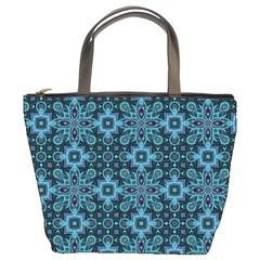 Abstract Pattern Design Texture Bucket Bags by Nexatart
