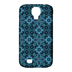 Abstract Pattern Design Texture Samsung Galaxy S4 Classic Hardshell Case (pc+silicone) by Nexatart