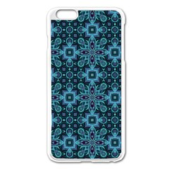 Abstract Pattern Design Texture Apple Iphone 6 Plus/6s Plus Enamel White Case by Nexatart