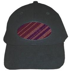 Stripes Course Texture Background Black Cap by Nexatart